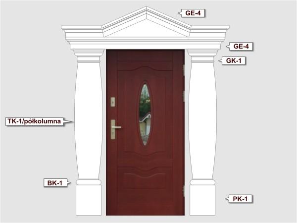 Komplettes Fassadenelement Nr.5