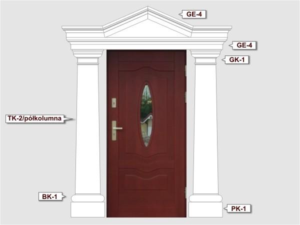 Komplettes Fassadenelement Nr.3