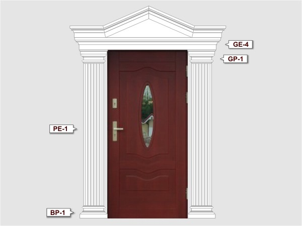 Komplettes Fassadenelemnt Nr.2