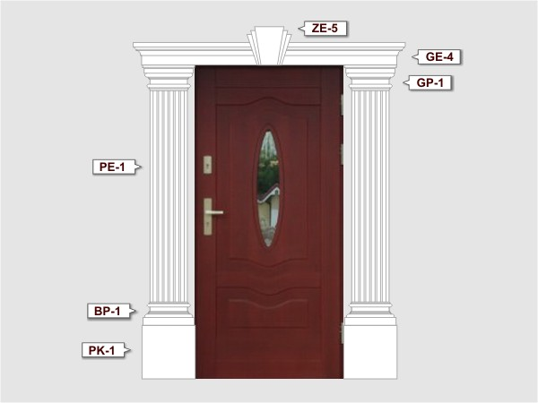Komplettes Fassadenelemnt Nr.3