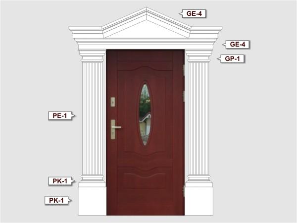 Komplettes Fassadenelemnt Nr.4