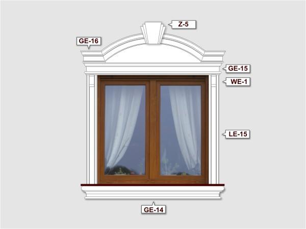 Komplettes Fassadenelement Nr.2